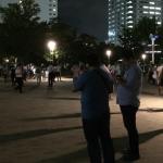 ポケモンGO | 話題の錦糸公園でポケモンゲットだぜ!ジム初挑戦、ピジョン&モルフォンゲット